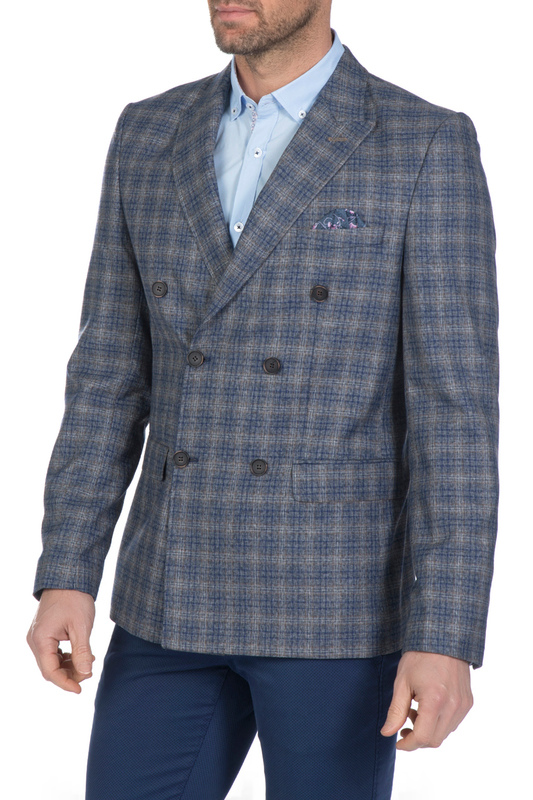 blazer man Sir Raymond Tailor Пиджаки и жакеты в клетку blazer man sir raymond tailor пиджаки и жакеты в клетку