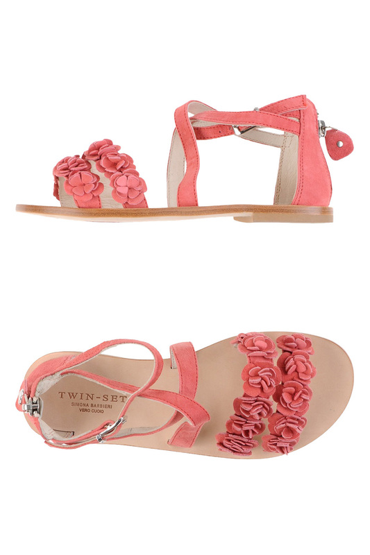 sandals Twin-Set Simona Barbieri sandals плащ camomilla italia