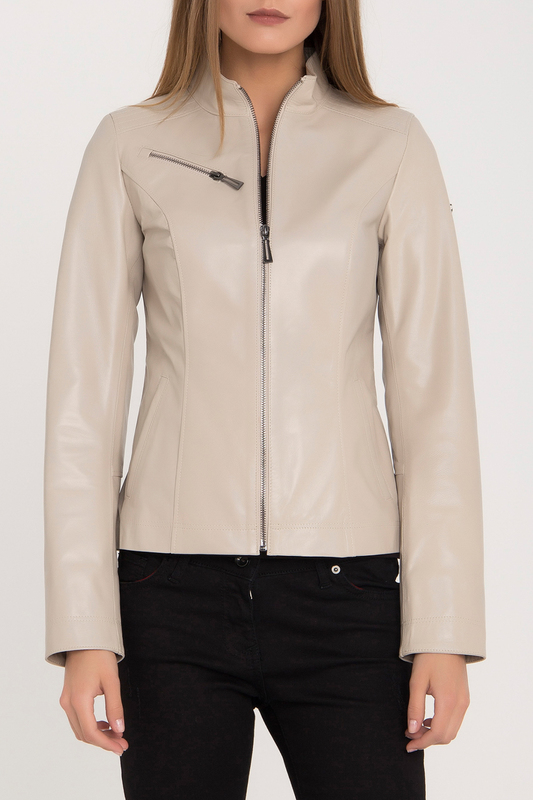 Купить Leather Jacket IPARELDE, Beige
