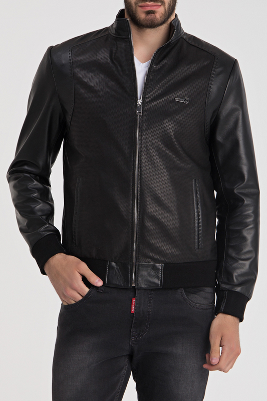 Купить Leather Jacket IPARELDE, BLACK