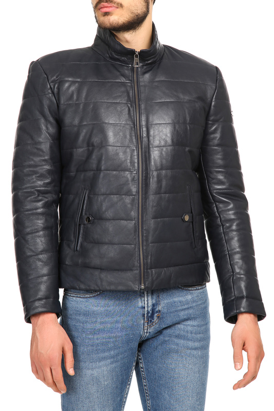 Купить Leather Jacket IPARELDE, Dark Blue