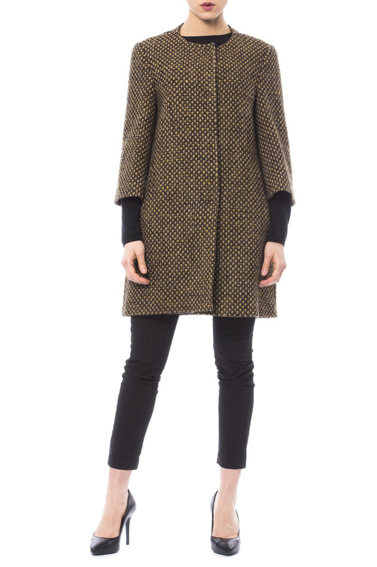 coat Trussardi Collection coat half length coat arma collection ladies half length coat