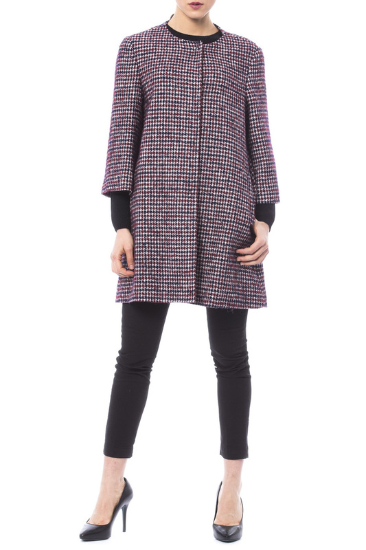 coat Trussardi Collection coat high boots just cavalli high boots