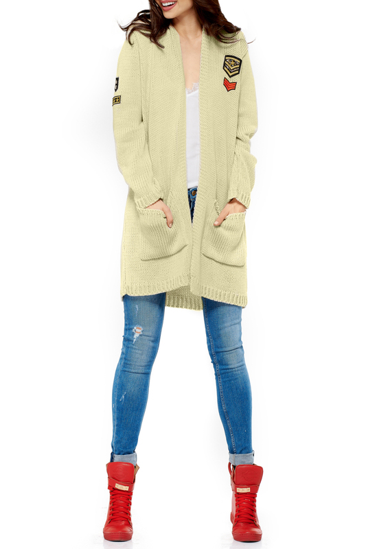 cardigan Lemoniade cardigan zip up jaquard sweater cardigan