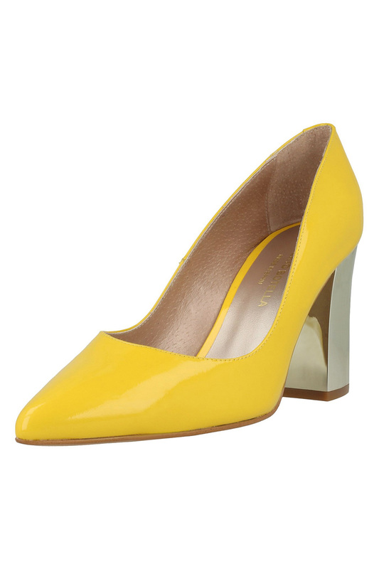 Купить Shoes ROBERTO BOTELLA, Yellow