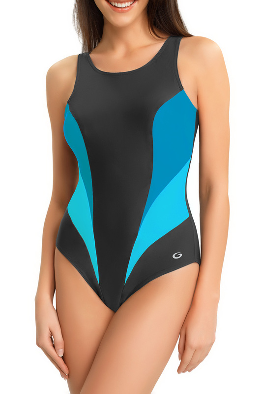 swimsuit GWINNER swimsuit lace up front tribal swimsuit