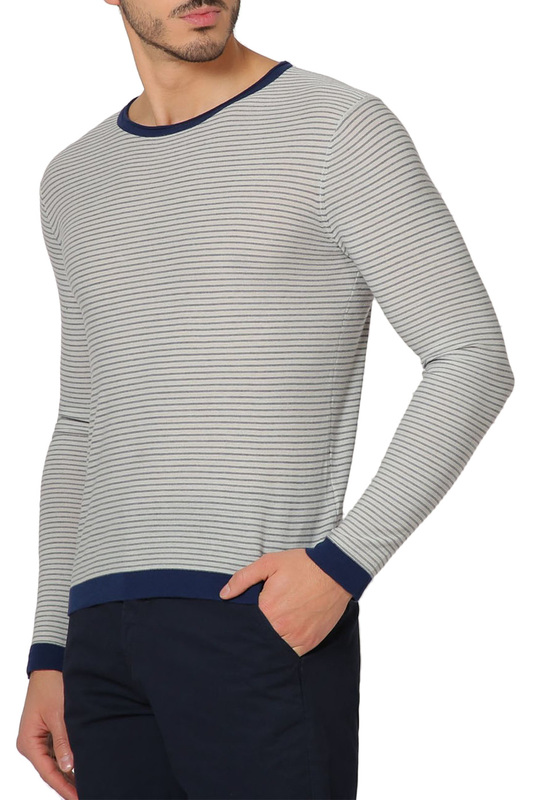 jumper CAVAGAN jumper plus grommet crisscross plunging neck jumper