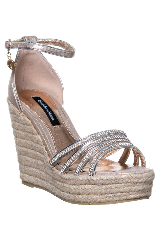 wedge sandals GianMarco Venturi wedge sandals faux suede lace up womens wedge sandals
