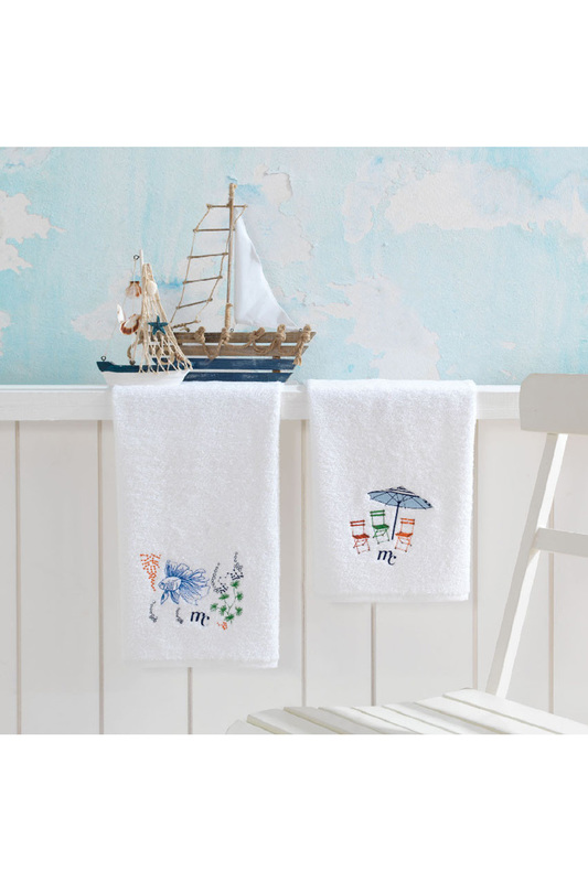 Towel Set, 2 Pieces, 50x90 Marie claire Towel Set, 2 Pieces, 50x90 кастрюля 20 см 2 5 л pensofal 8 марта женщинам