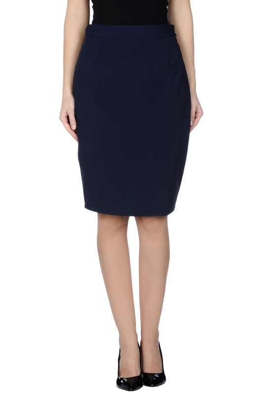 Купить Knee length skirts Betty Blue, Dark blue