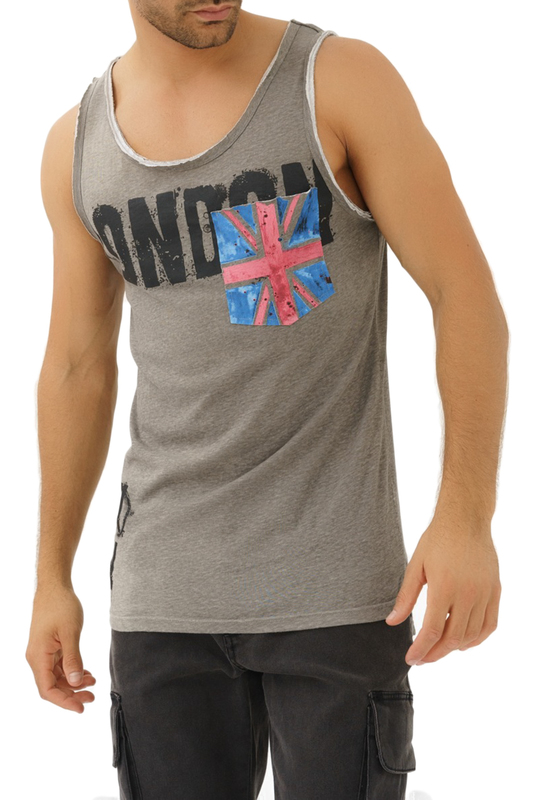 Tank top TRUEPRODIGY Tank top love graphic tank top and pants twinset