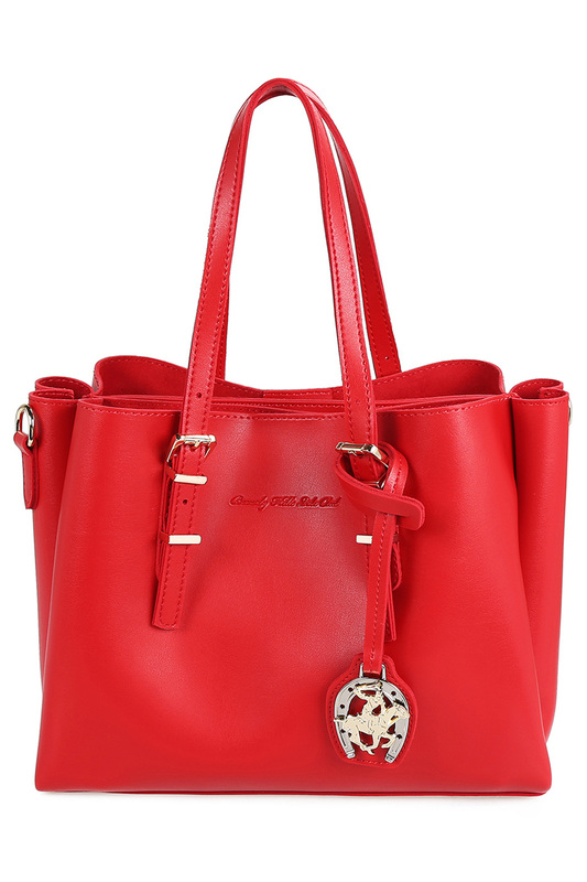 Купить bag BEVERLY HILLS POLO CLUB цвет red