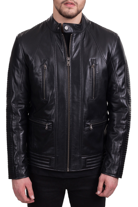 leather jacket JACK WILLIAMSleather jacket