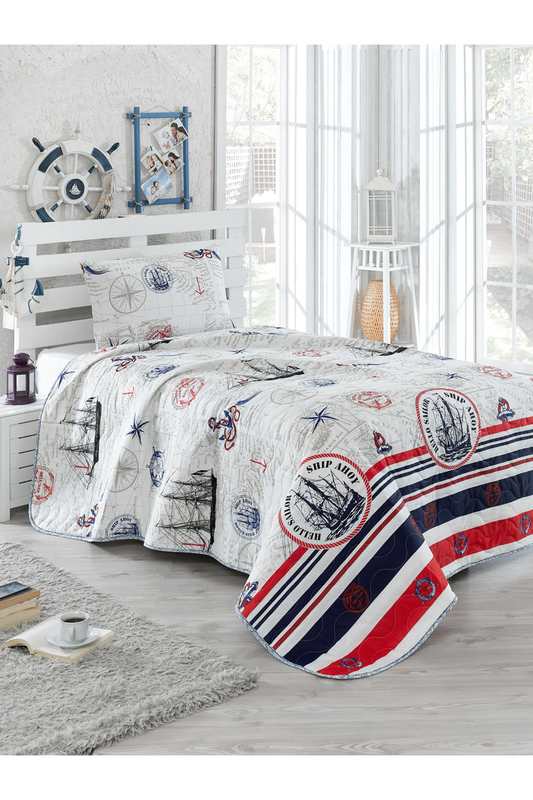 Single Quilted Bedspread Set Eponj home Single Quilted Bedspread Set