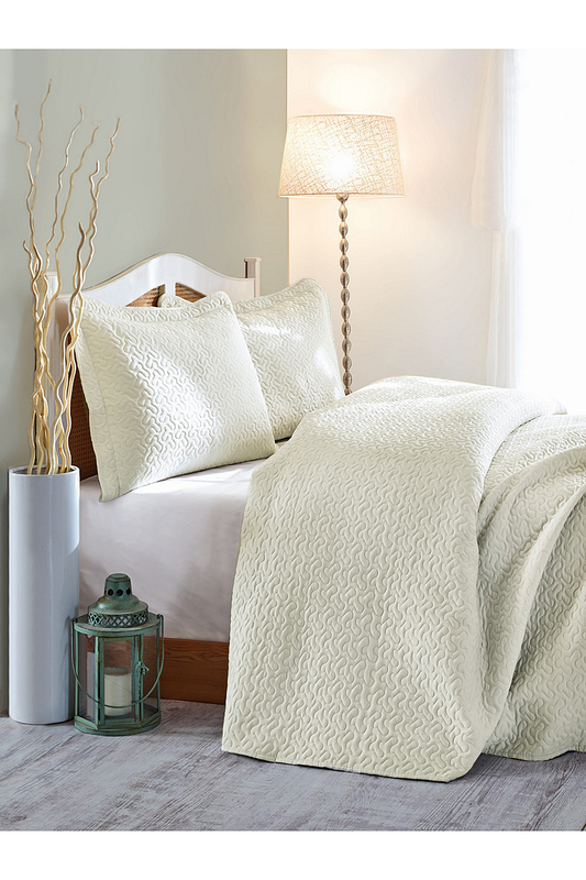 Single Quilted Bedspread Set Cotton box Single Quilted Bedspread Set