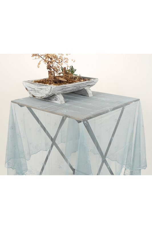Tablecloth, 145x200 Marie claire, Light blue