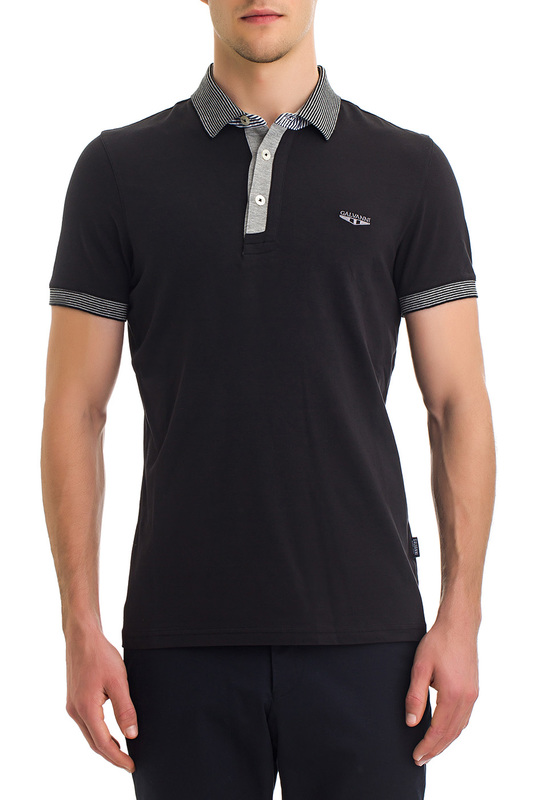 Фото - polo t-shirt Galvanni polo t-shirt vogue color block slimming turn down collar short sleeves polo t shirt for men