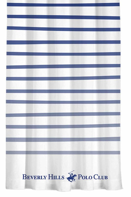Curtain, 140х260 Beverly Hills Polo Club Curtain, 140х260 wood grain print water repellent shower curtain