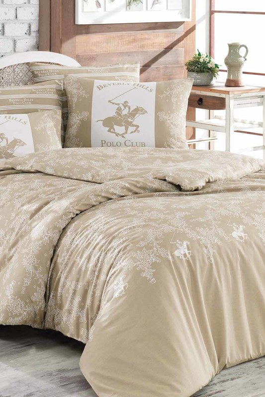 Double Quilt Cover Set Beverly Hills Polo Club Double Quilt Cover Set лосьон для тела 250 мл halal cosmetics