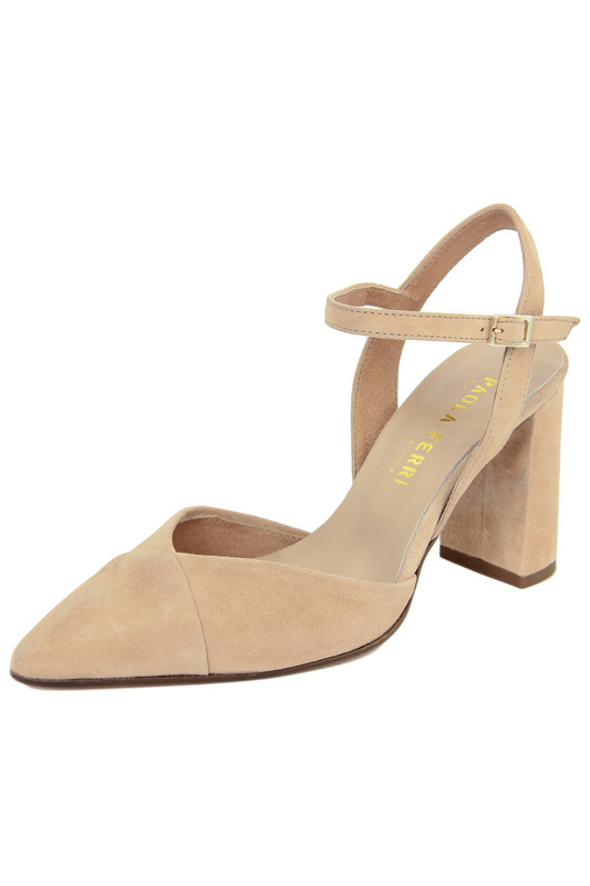 Купить High heels sandals PAOLA FERRI, Beige