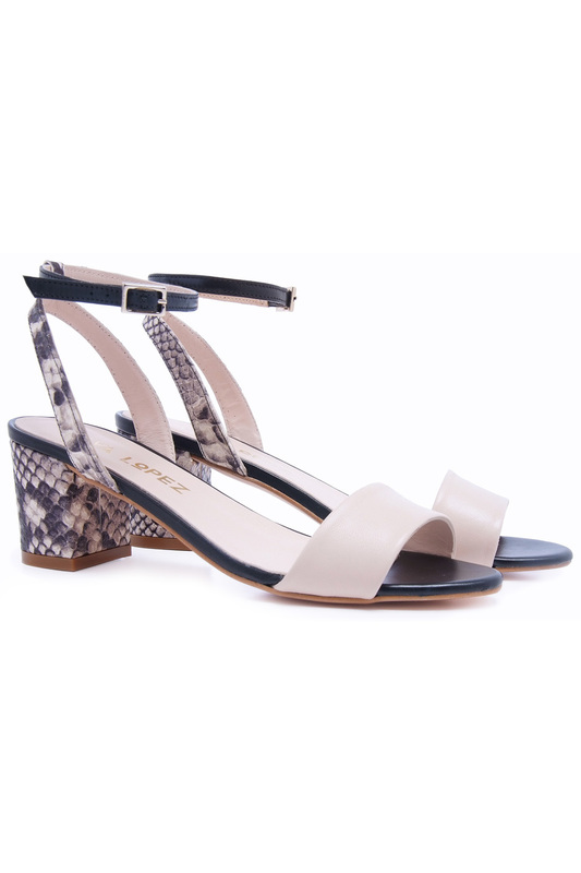 heeled sandals EVA LOPEZ heeled sandals