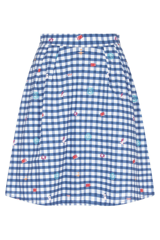 skirt YUMI skirt tie waist plaid pencil skirt