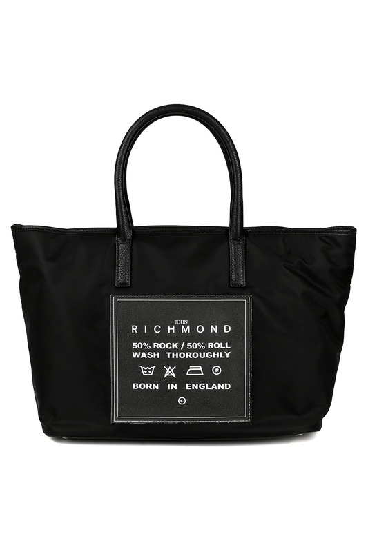 bag John Richmond bag прямые брюки с застежками john richmond