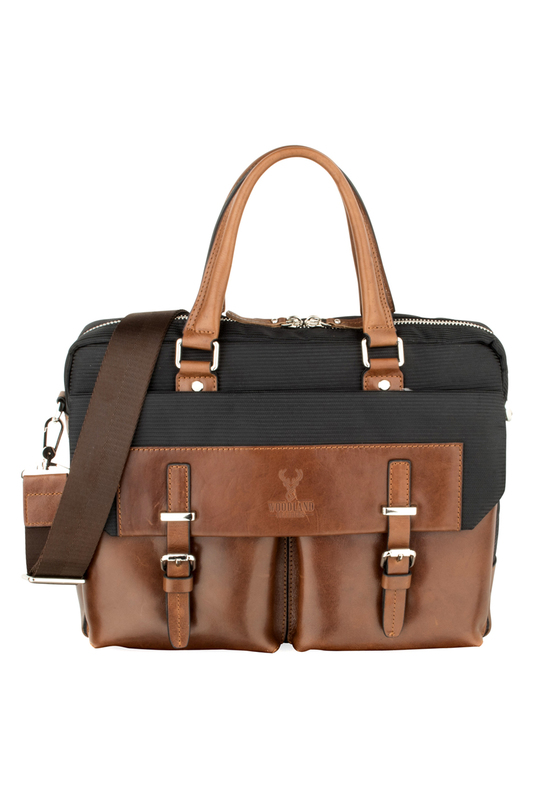 Office bag WOODLAND LEATHERS Office bag mens canvas pu shoulder bag handbags briefcase for the office messenger bag large enough to hold books ipad