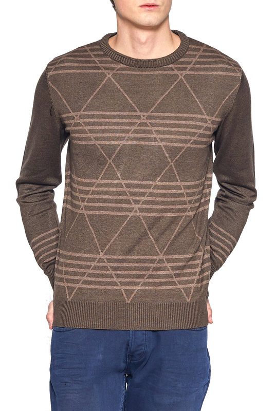 Купить Jumper ADZE, Brown, brown