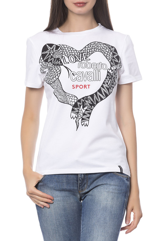 T-shirt Roberto Cavalli Sport T-shirt men architecture graphic back t shirt