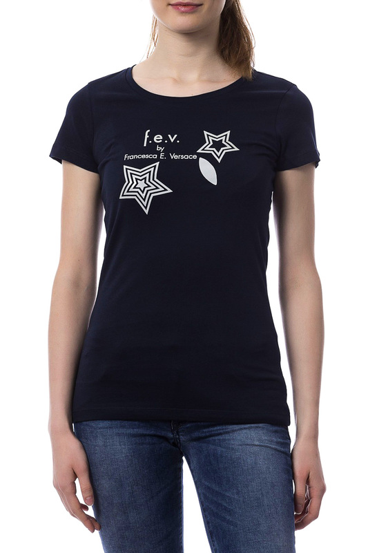 T-shirt F.E.V. by Francesca E. Versace T-shirt плед шоколад 127х152 daily by t page 3