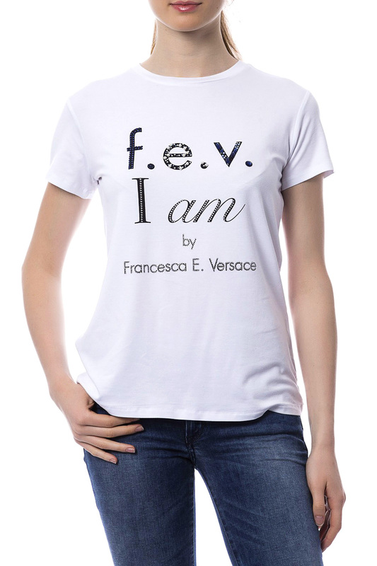 T-shirt F.E.V. by Francesca E. Versace T-shirt комплект штор лолита 150х180 daily by t