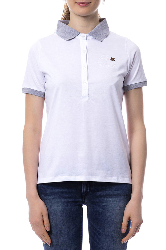 polo t-shirt F.E.V. by Francesca E. Versace polo t-shirt плед шоколад 127х152 daily by t page 3