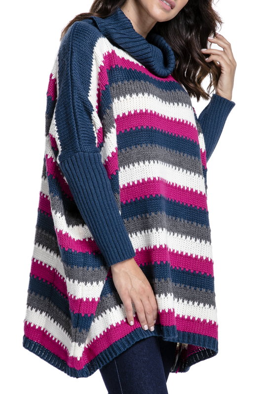Купить Sweater FIMFI, Fuchsia, blue