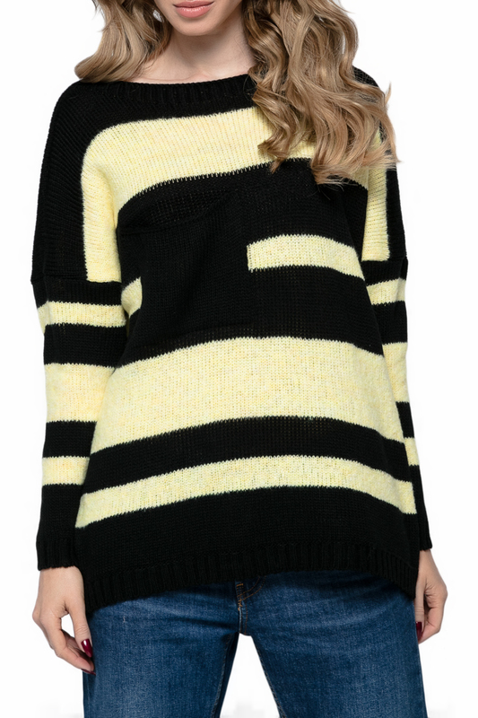 Купить Sweater FIMFI, Black, yellow