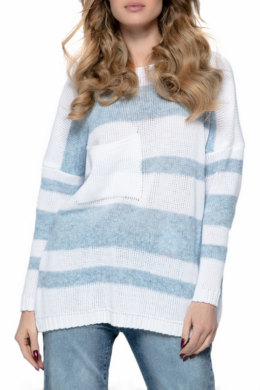 Купить Sweater FIMFI, White, blue