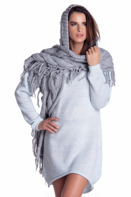 scarf with hood FOBYA scarf with hood сonversations with avet terteryan