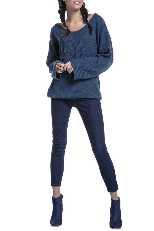 Купить Sweater FOBYA, Navy