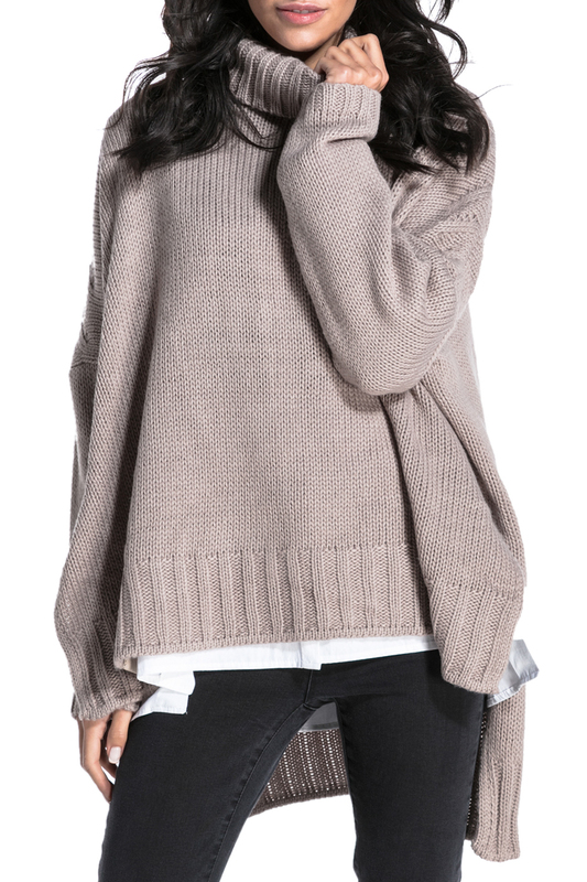 Купить Sweater FOBYA, Taupe