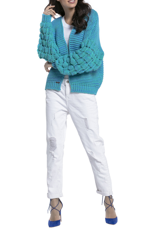 Купить Cardigan FOBYA, Light blue
