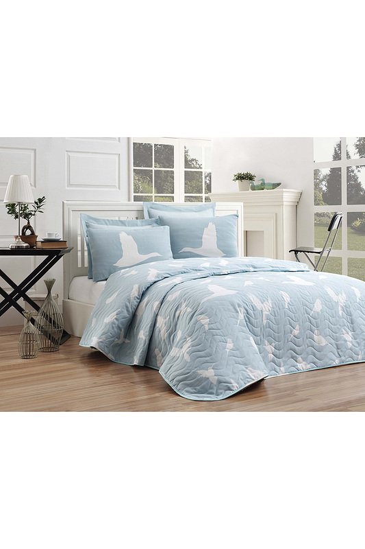 Single Quilted Bedspread Set ENLORA HOME Single Quilted Bedspread Set