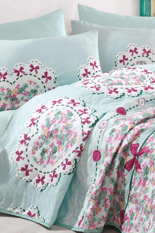 Double Quilted Bedspread Set ENLORA HOME Double Quilted Bedspread Set quilted crossbody bag