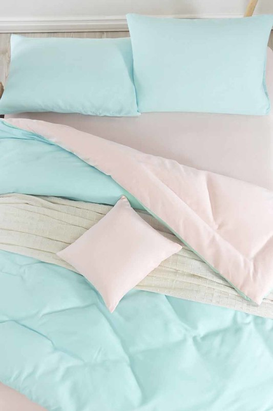 Double Quilt Cover Set ENLORA HOME Double Quilt Cover Set double cover set victoria double cover set