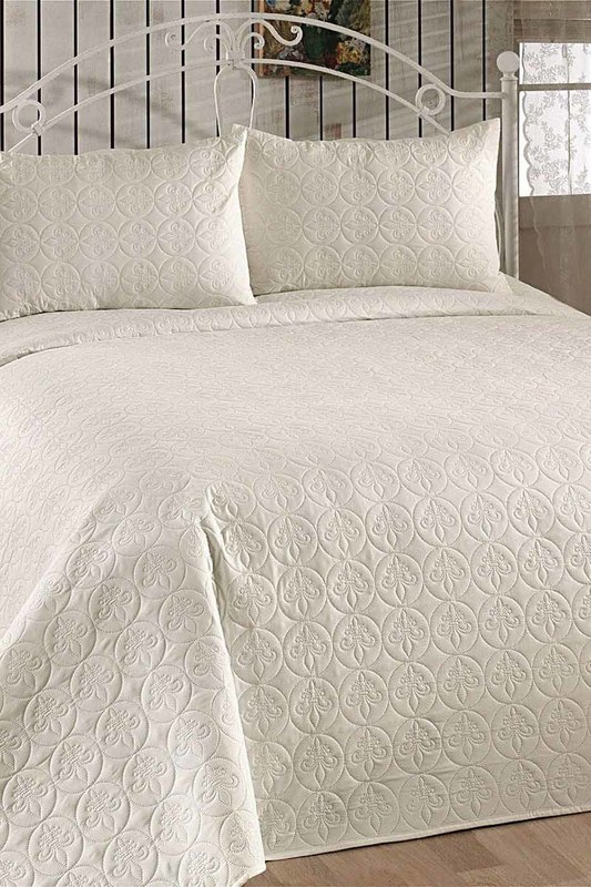 Double Quilted Bedspread Set ENLORA HOME Double Quilted Bedspread Set double quilted eponj home double quilted