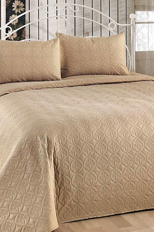 Фото - Double Quilted Bedspread Set ENLORA HOME Double Quilted Bedspread Set quilted metallic chain bag