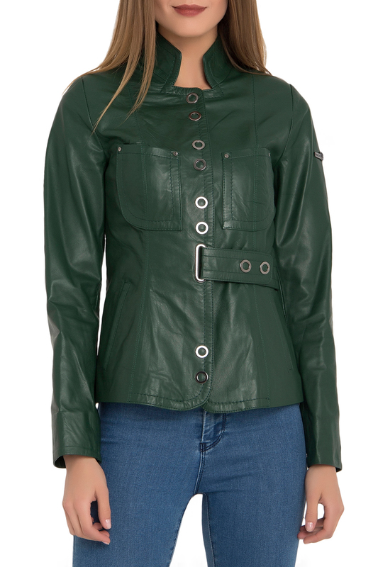 Купить Leather Jacket IPARELDE, Green