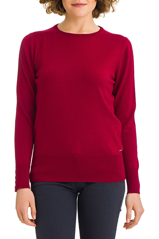 jumper Galvanni jumper double v neck fluted sleeve jumper