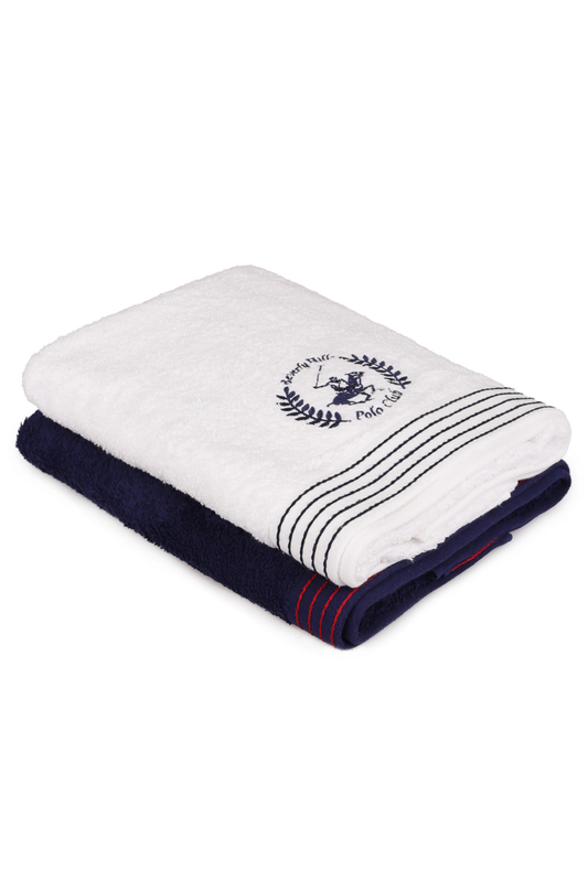 Bath Towel Set, 70х140 Beverly Hills Polo Club Bath Towel Set, 70х140 kassatex kassadesign brights collection bath towel caribbean blue