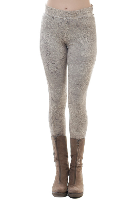 leggings Conquista leggings contrast panel leggings