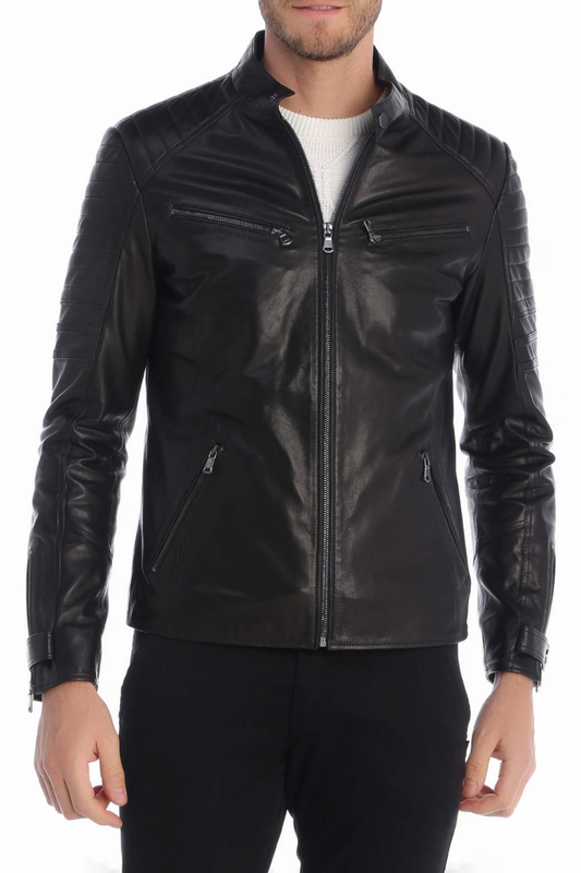 Leather Jacket GIORGIO DI MARE Leather Jacket leather giorgio brato leather